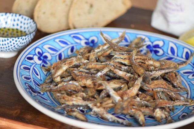 Frittierte Sardinen (3)