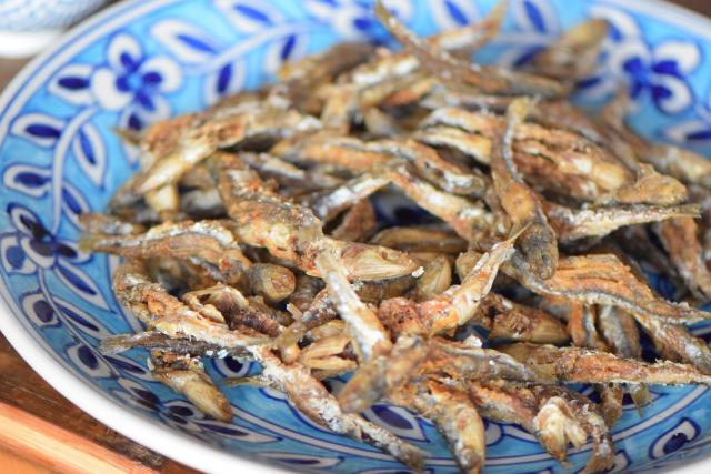Frittierte Sardinen (4)