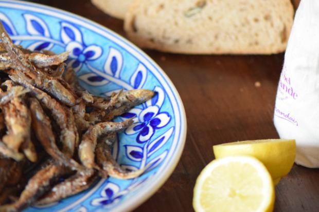 Frittierte Sardinen (5)