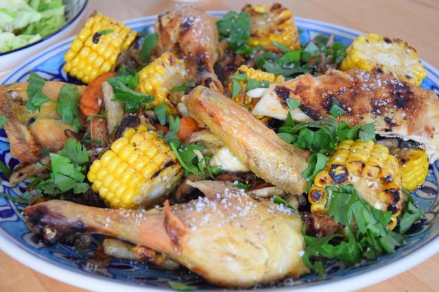 Hähnchen in der Gemüsepfanne (3)