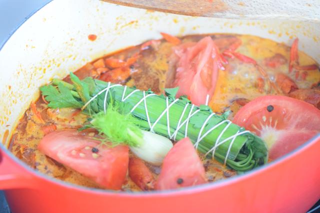 Seezungenfilet mit Sauce Nantua und Spinat (4)