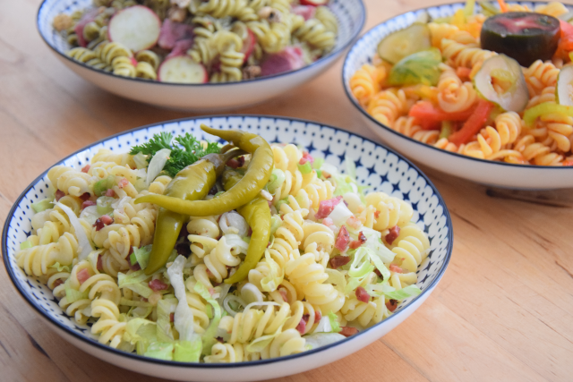 Kalte Pesto-Nudelsalate (4)