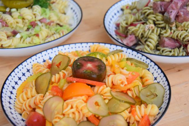 Kalte Pesto-Nudelsalate (5)