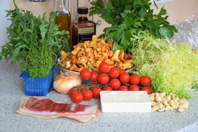 Pfifferling-Salat (1)