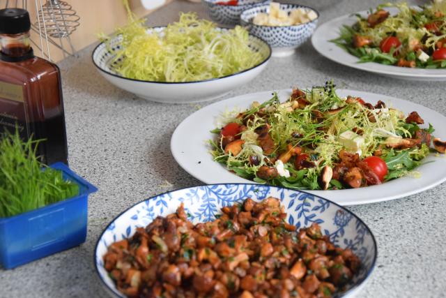 Pfifferling-Salat (2)