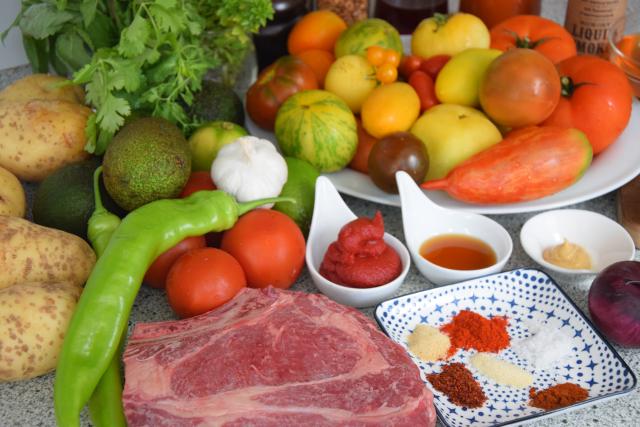 Steak mit Kartoffelwaffeln (1)