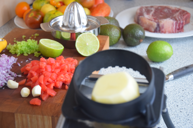 Steak mit Kartoffelwaffeln (2)
