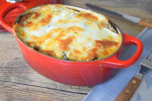 Auberginen-Mozzarella-Gratin (4)