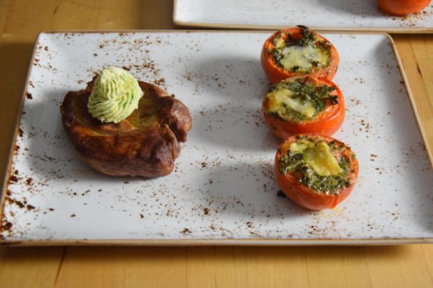 Fleisch, Butter, Tomaten (2)