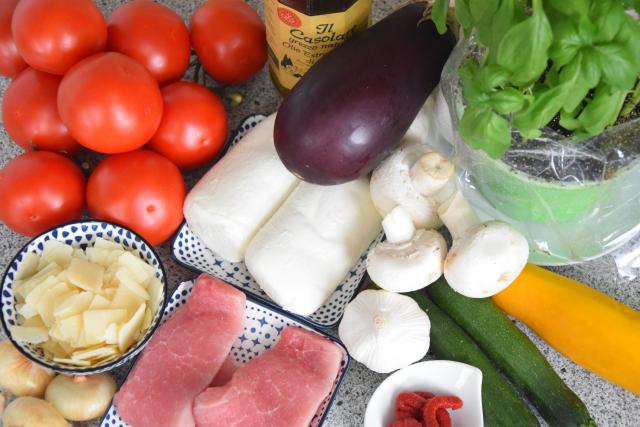 Gemüse-Tian mit Schnitzelchen (1)