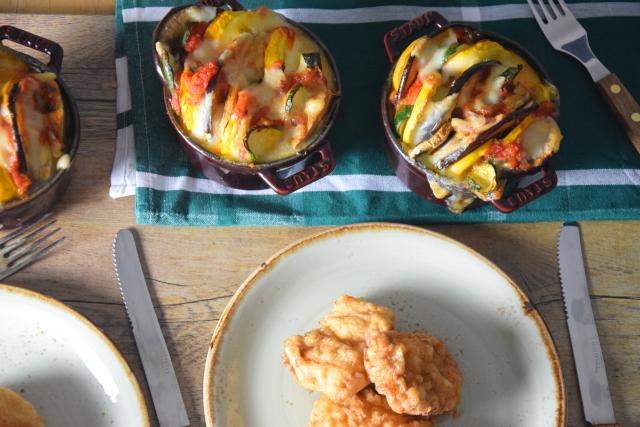 Gemüse-Tian mit Schnitzelchen (5)