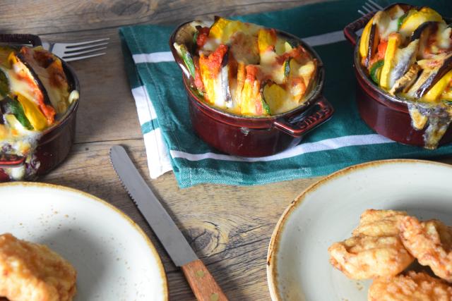 Gemüse-Tian mit Schnitzelchen (6)