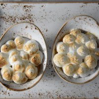 Ribiselschaumkuchen / Marillenschaumkuchen