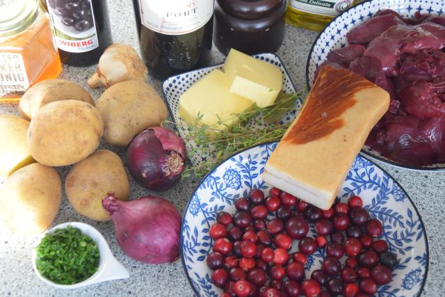 Hühnerleber mit Cranberries (1)