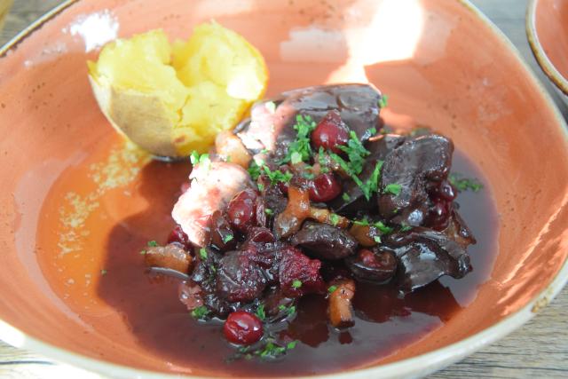 Hühnerleber mit Cranberries (5)