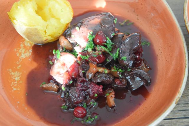 Hühnerleber mit Cranberries (7)