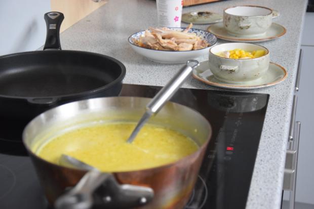 Mais-Huhnsuppe (2)