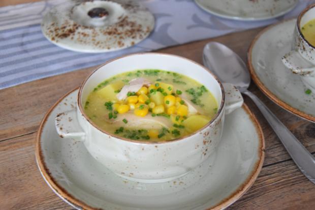 Mais-Huhnsuppe (3)