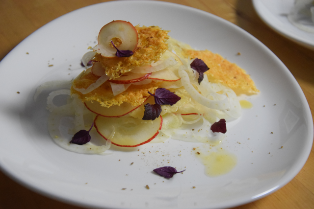 Fenchel-Birnensalat mit Pecorino (2)