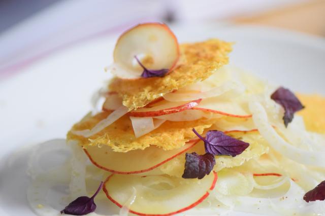 Fenchel-Birnensalat mit Pecorino (4)