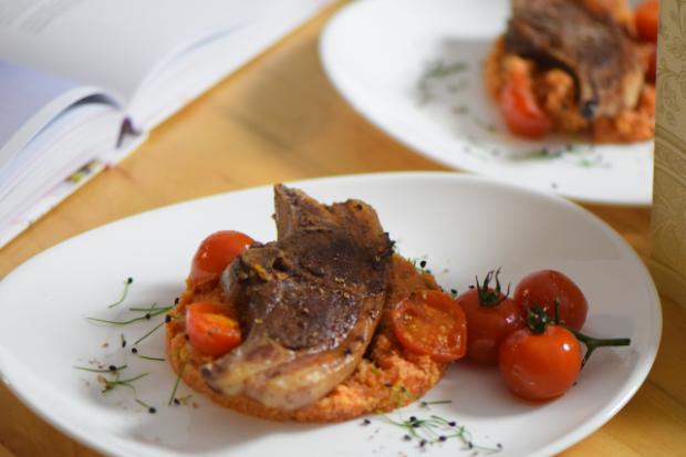 Lammkoteletts mit Sumach und Tomaten-Couscous (5)
