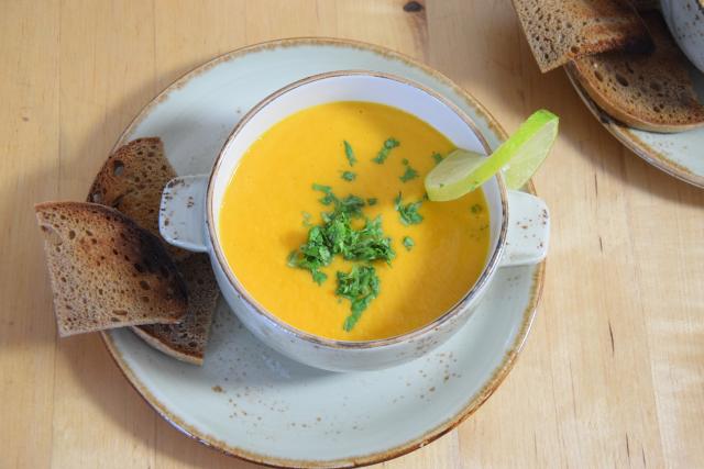 Limetten-Karottensuppe (2)