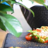 Gurken-Papaya-Nester