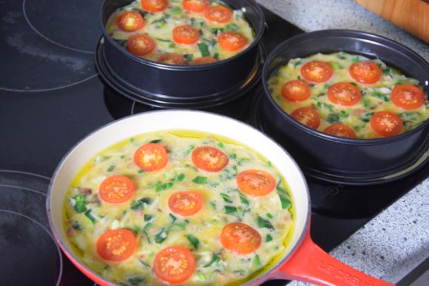 Frittata mit Speck und Tomaten (2)