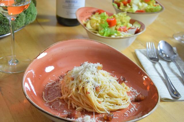 Spaghetti mit Guanciale (4)
