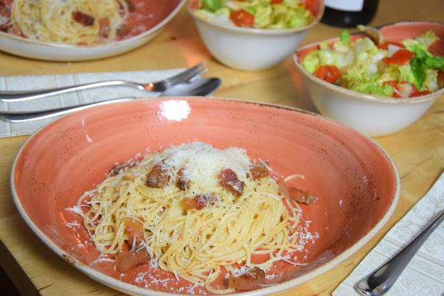 Spaghetti mit Guanciale (5)