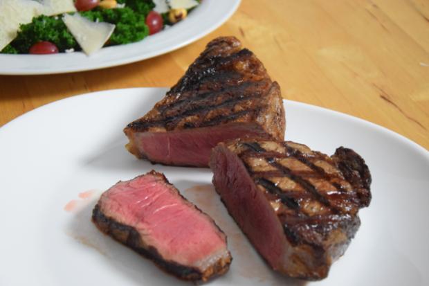 Steak mit Grünkohl (2)