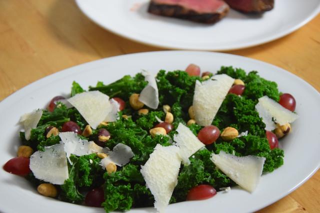 Steak mit Grünkohl (3)