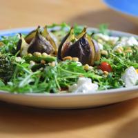Rucola-Pesto-Feigen-Salat