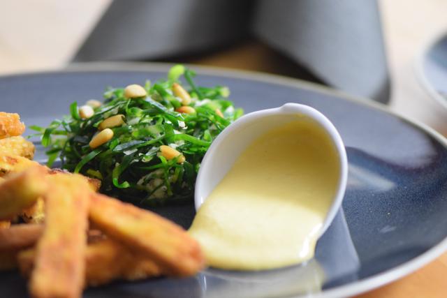 Frittiertes Gemüse Mit Quitten Aioli Küchenereignisse