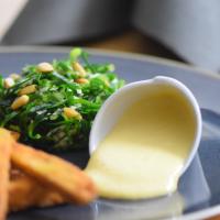 Frittiertes Gemüse mit Quitten-Aioli