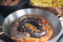 Mangalitza-Blutwurst und -Leberwurst, kolbász (3)
