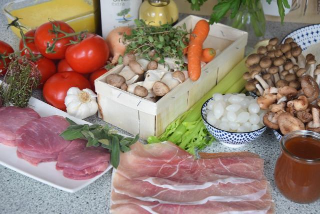 Saltimbocca vom Schwein (1)
