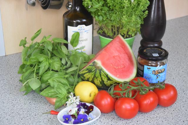 Kalte Wassermelonensuppe (1)
