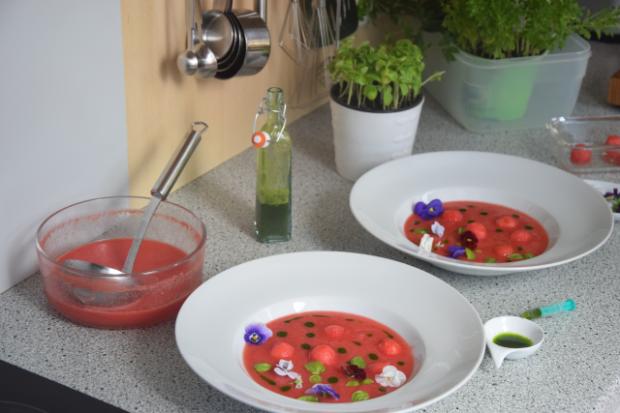 Kalte Wassermelonensuppe (2)