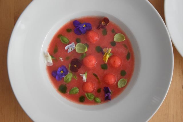 Kalte Wassermelonensuppe (3)