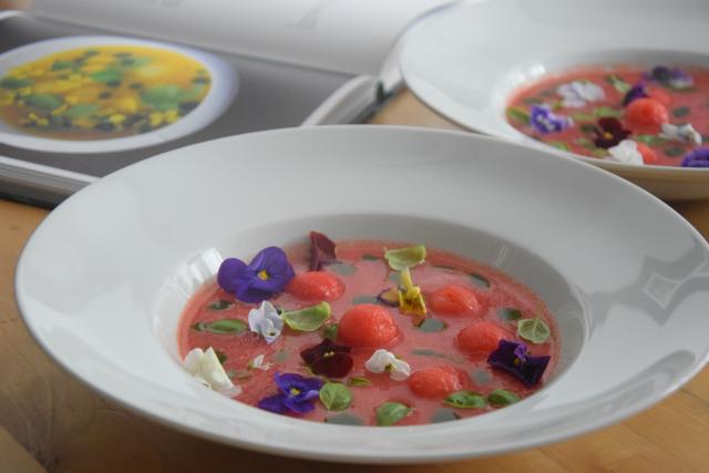 Kalte Wassermelonensuppe (5)