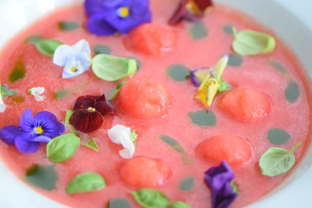 Kalte Wassermelonensuppe (6)