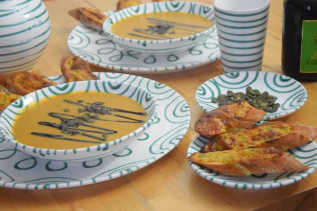 Kürbissuppe auf mediterrane Art (5)