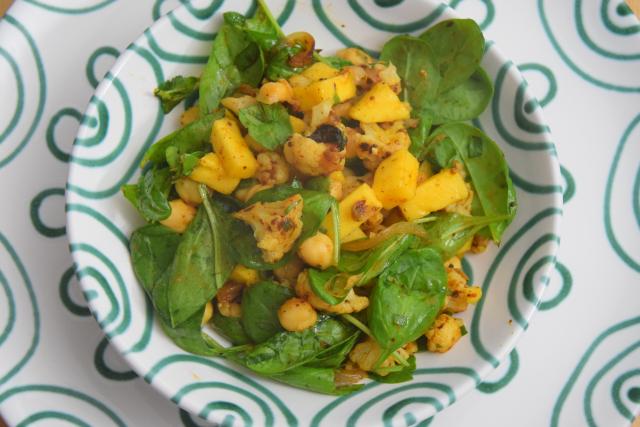 Kichererbsen und Mango (4)