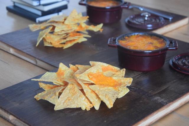 Überbackene Bohnen mit Tortillas (2)