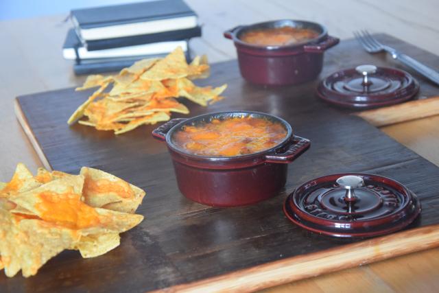 Überbackene Bohnen mit Tortillas (3)