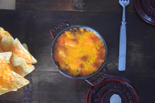 Überbackene Bohnen mit Tortillas (4)