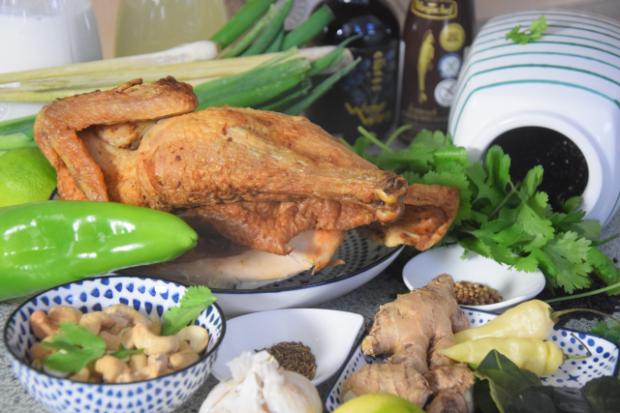 Hühner-Chili-Curry mit schwarzem Reis (1)