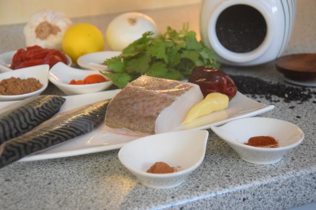 Makrele in Chraimeh-Sauce (1)