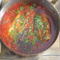 Makrele in Chraimeh-Sauce